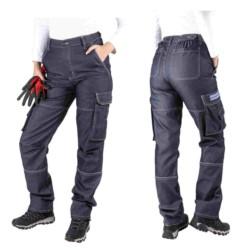 DAMSKIE spodnie ROBOCZE WYSOKI STAN 46
