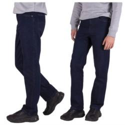 MĘSKIE spodnie JEANSY prosta NOGAWKA pas 82cm 34