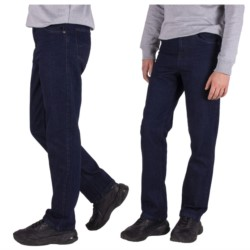MĘSKIE spodnie JEANSY prosta NOGAWKA pas 88cm 36
