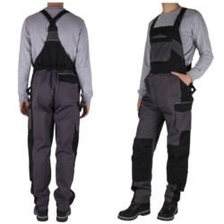 LMA spodnie ROBOCZE męskie OGRODNICZKI odblask 48