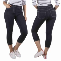 NEXT spodnie damskie 7/8 CZARNE JEANSY RURKI 50