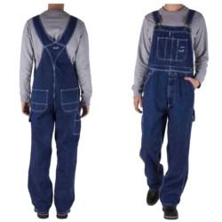 SPODNIE robocze OGRODNICZKI jeansowe L32 W40 112cm