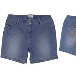 HAFT krótkie SPODENKI DAMSKIE jeansowe STRECZ 52