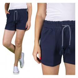 spodenki damskie krótkie, bawełniane, plus size/ woman short pants,plus size 40 to 52 cm, knit