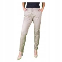 ONLY LEKKIE ELASTYCZNE spodnie CHINO PLUS SIZE 48