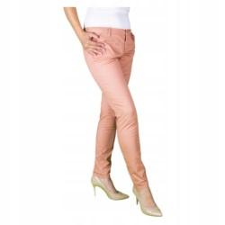 ONLY LEKKIE ELASTYCZNE spodnie CHINO PLUS SIZE 46