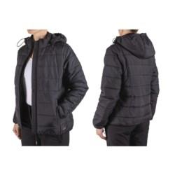 CZARNA pikowana CIEPŁA kurtka DAMSKA robocza XL
